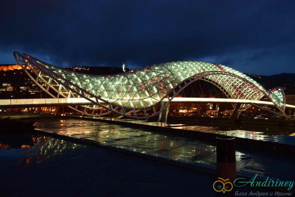 Тбилиси. Мост мира