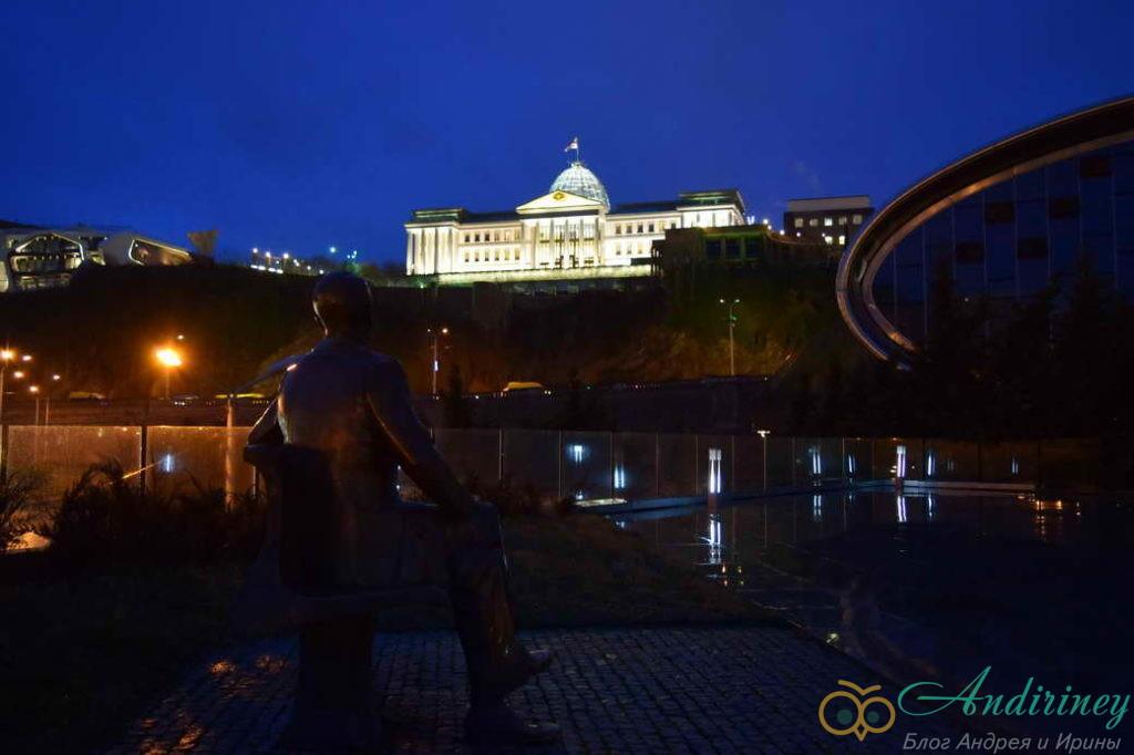 Тбилиси. Президентский дворец