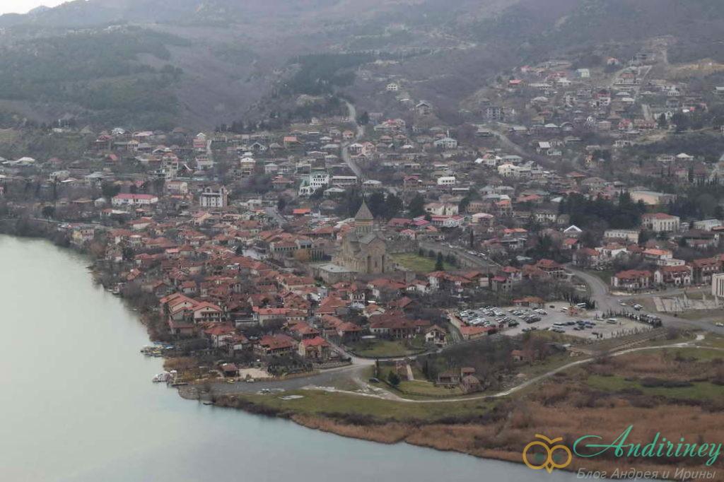 Мцхета. Вид от монастыря Джвари
