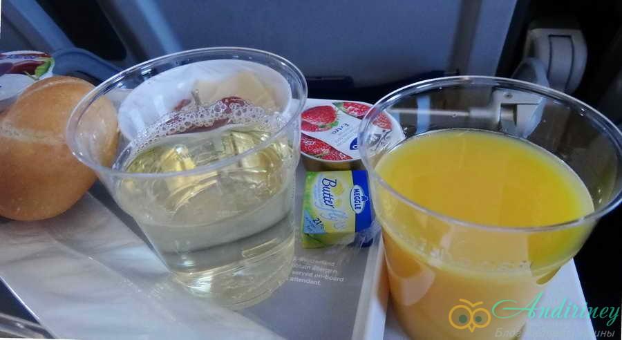 Как кормит Lufthansa