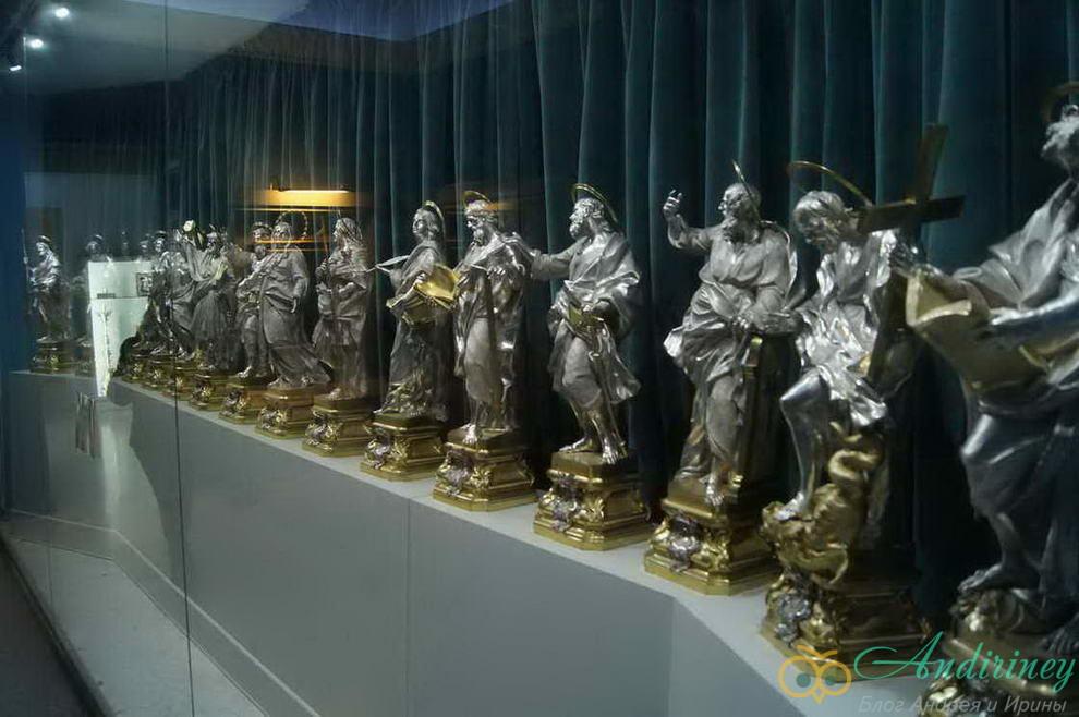 Серебро в Соборном музее Мдины