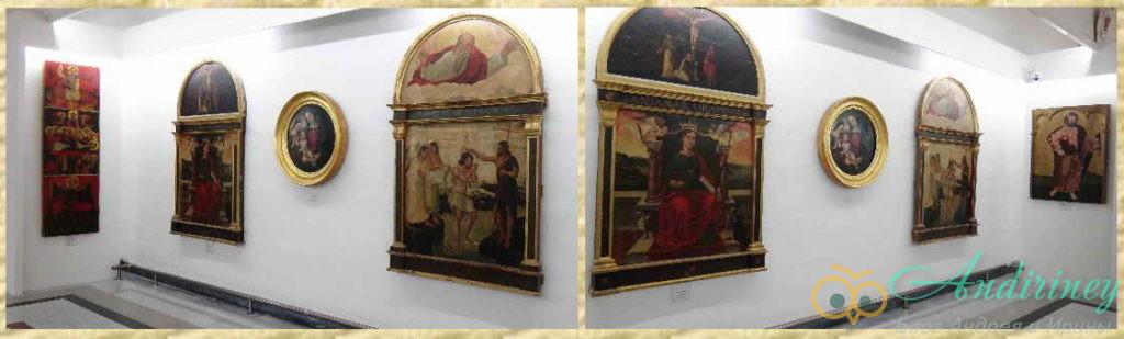 Иконы в Соборном музее Мдины