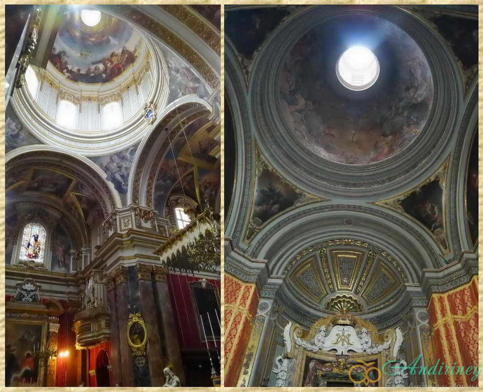 Кафедральный собор Святого Павла. Купола