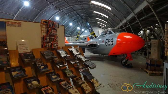 De Havilland Vampire T 11 WZ550