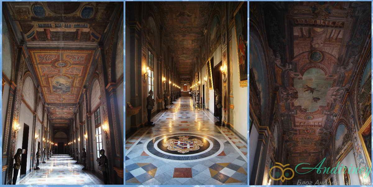 Дворец Великого магистра. Парадный коридор