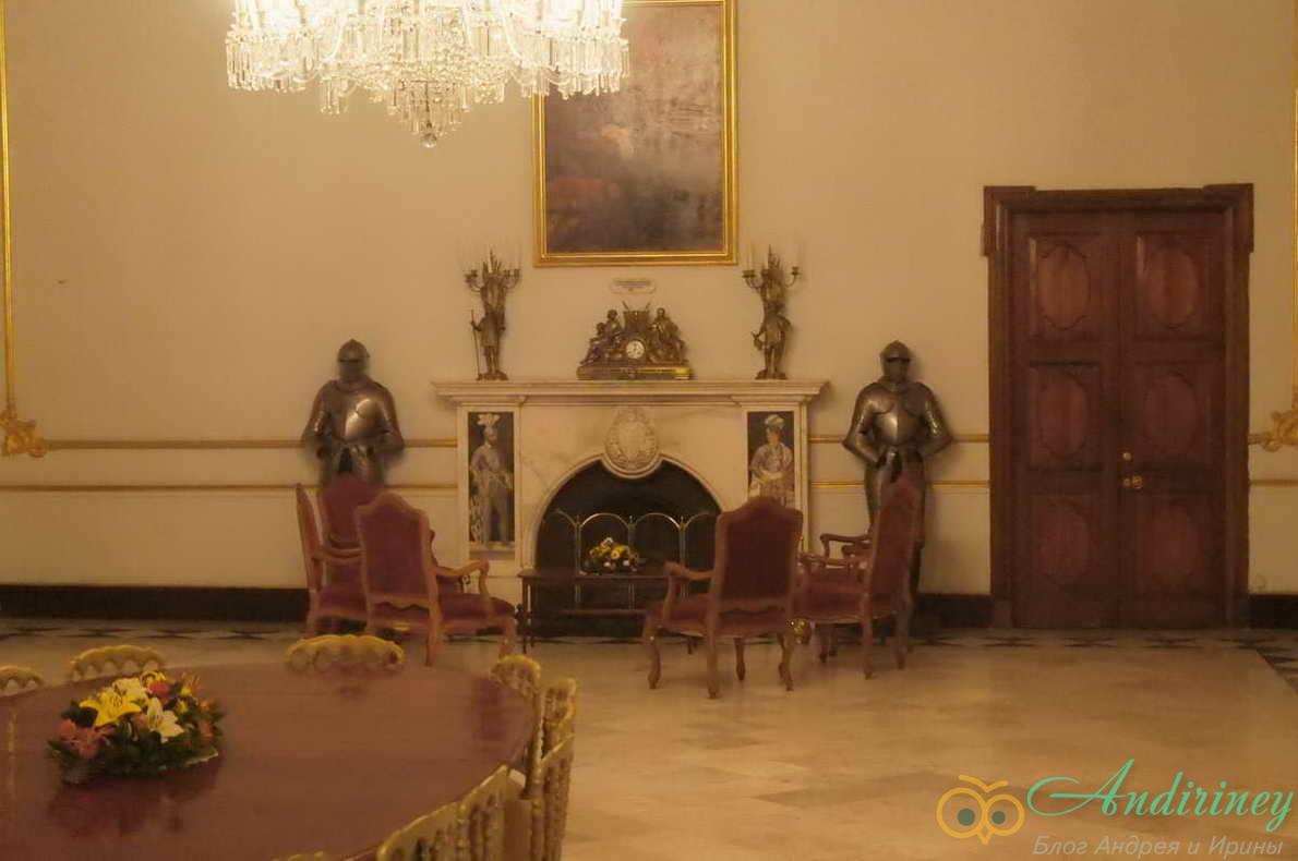 Дворец Великого магистра. Парадная столовая