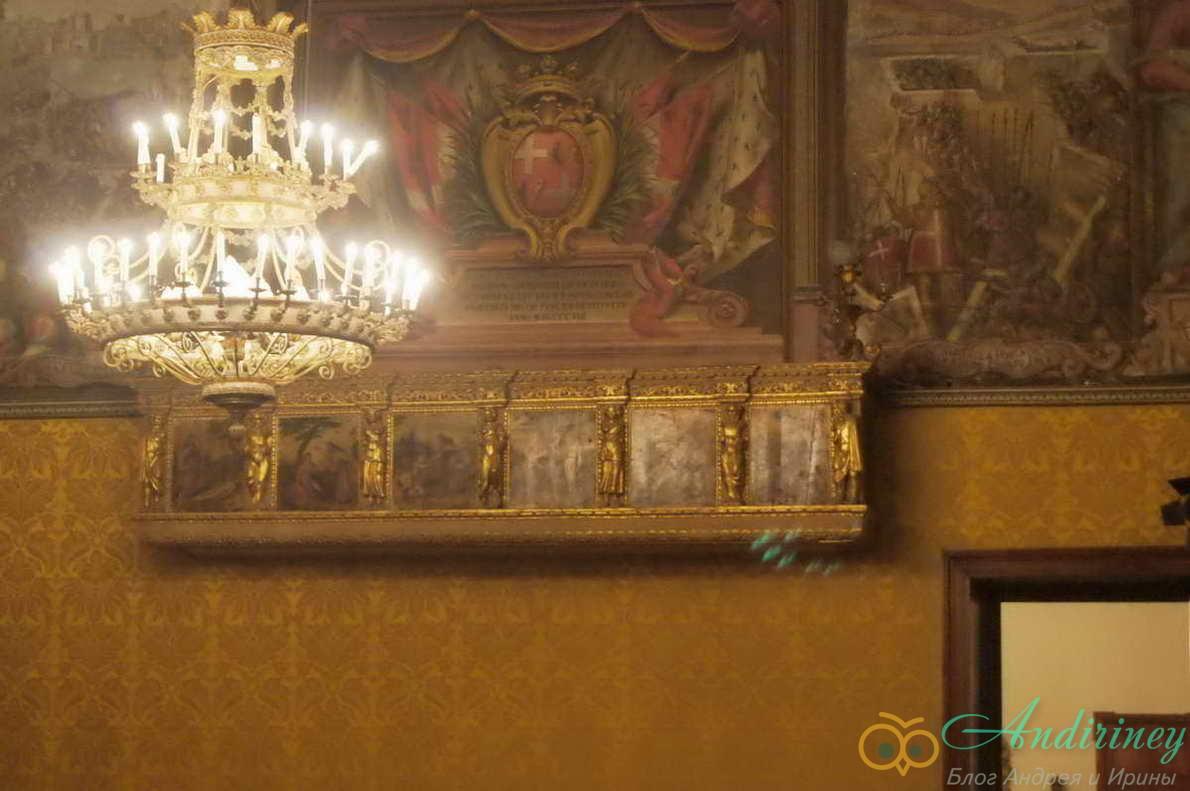Дворец Великого магистра. Палата Великого совета