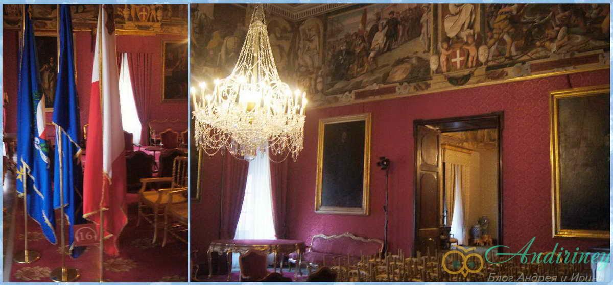 Дворец Великого магистра. Комната для встреч с послами