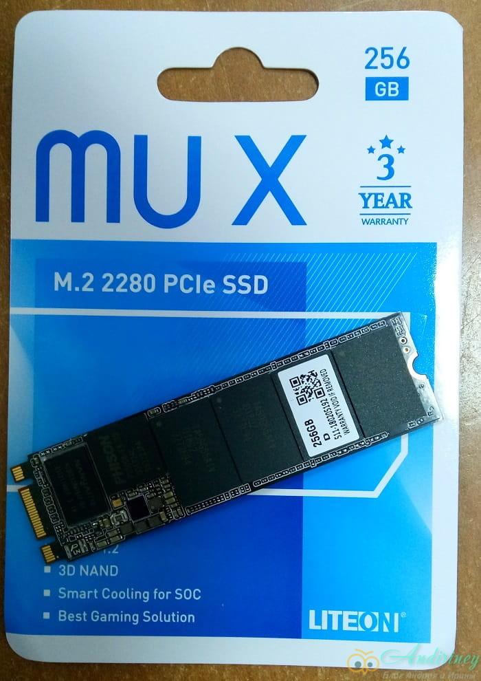 SSD LiteOn MU X PP3-8D256, обзор
