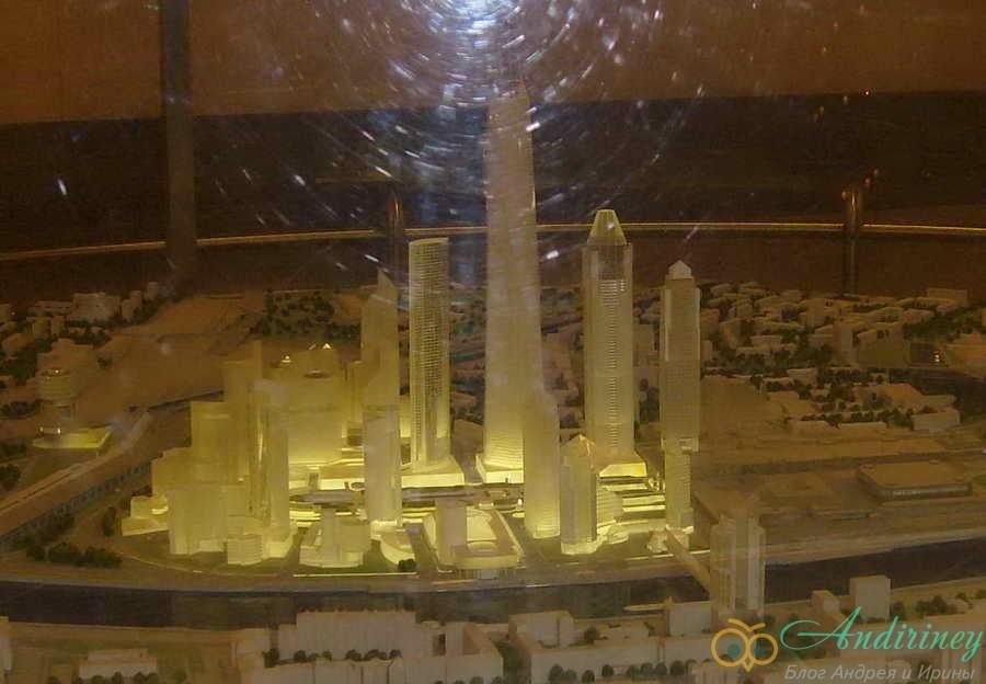 Смотровая площадка в башне Империя