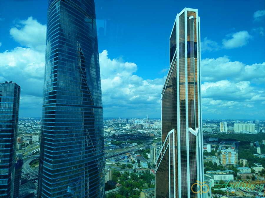 Башня Меркурий в Москве-Сити