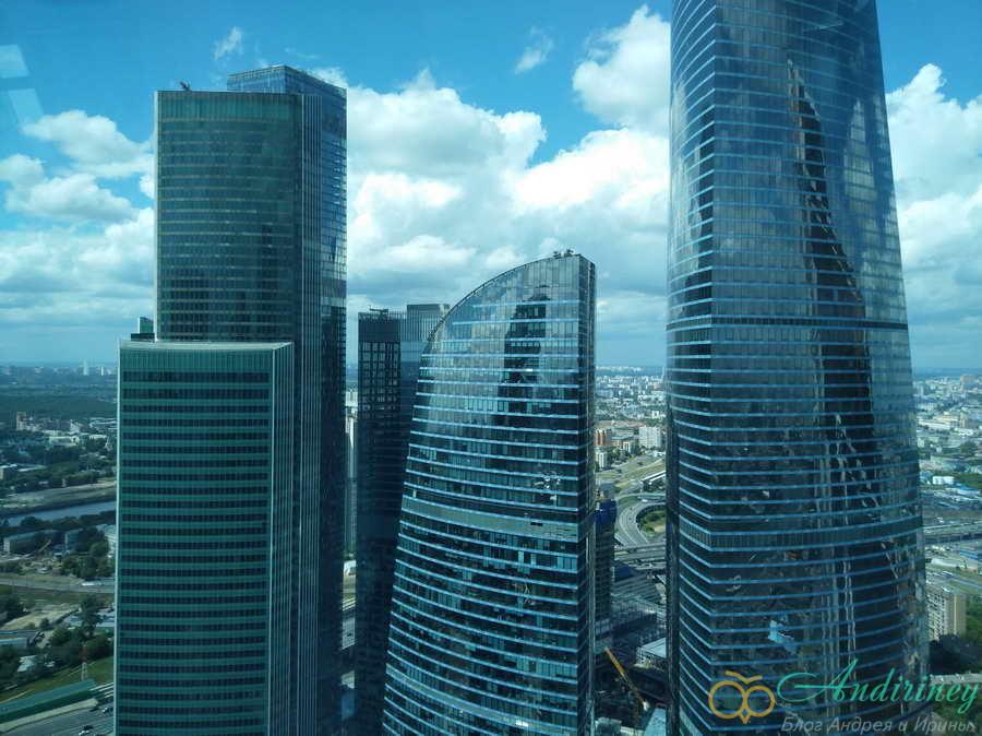 Башня Евразия в Москве-Сити