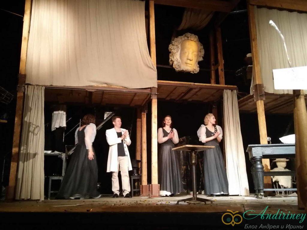 Спектакль Евгений Онегин в Театре на Таганке