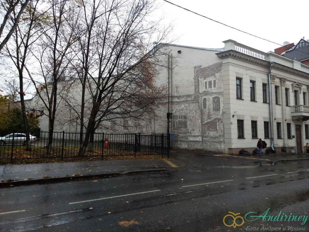 Гороховое поле в Москве. Уцелевший дом