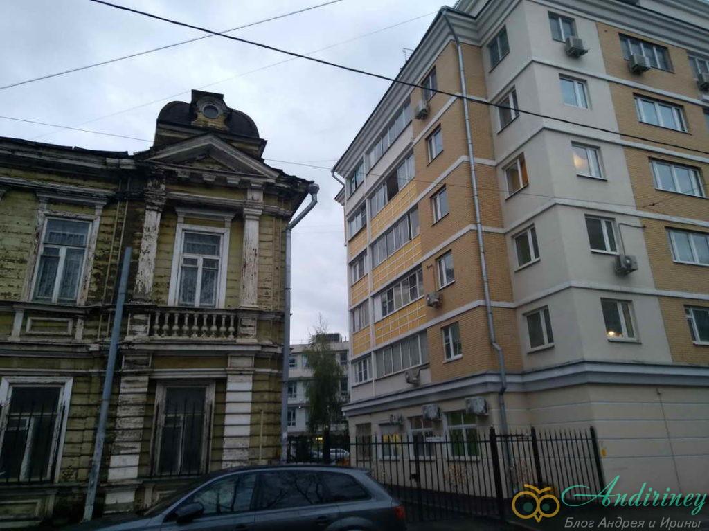Контрасты. Гороховое поле в Москве