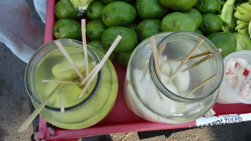 Отдых на Филиппинах - зелёное манго