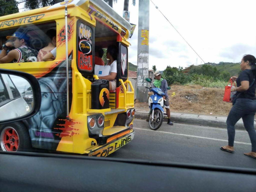 Отдых на Филиппинах - междугородний джипни