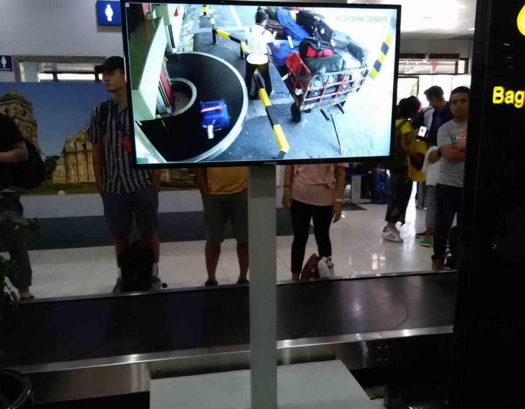 Отдых на Филиппинах. Получение багажа.