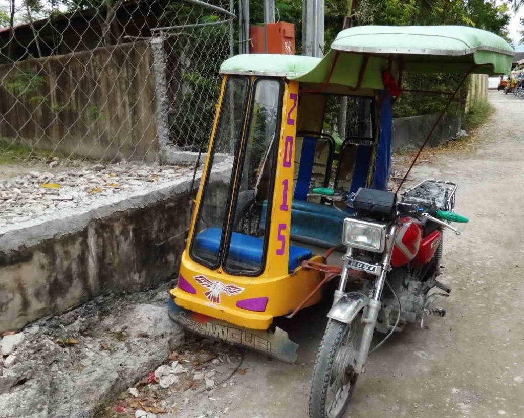 Отдых на Филиппинах - трицикл