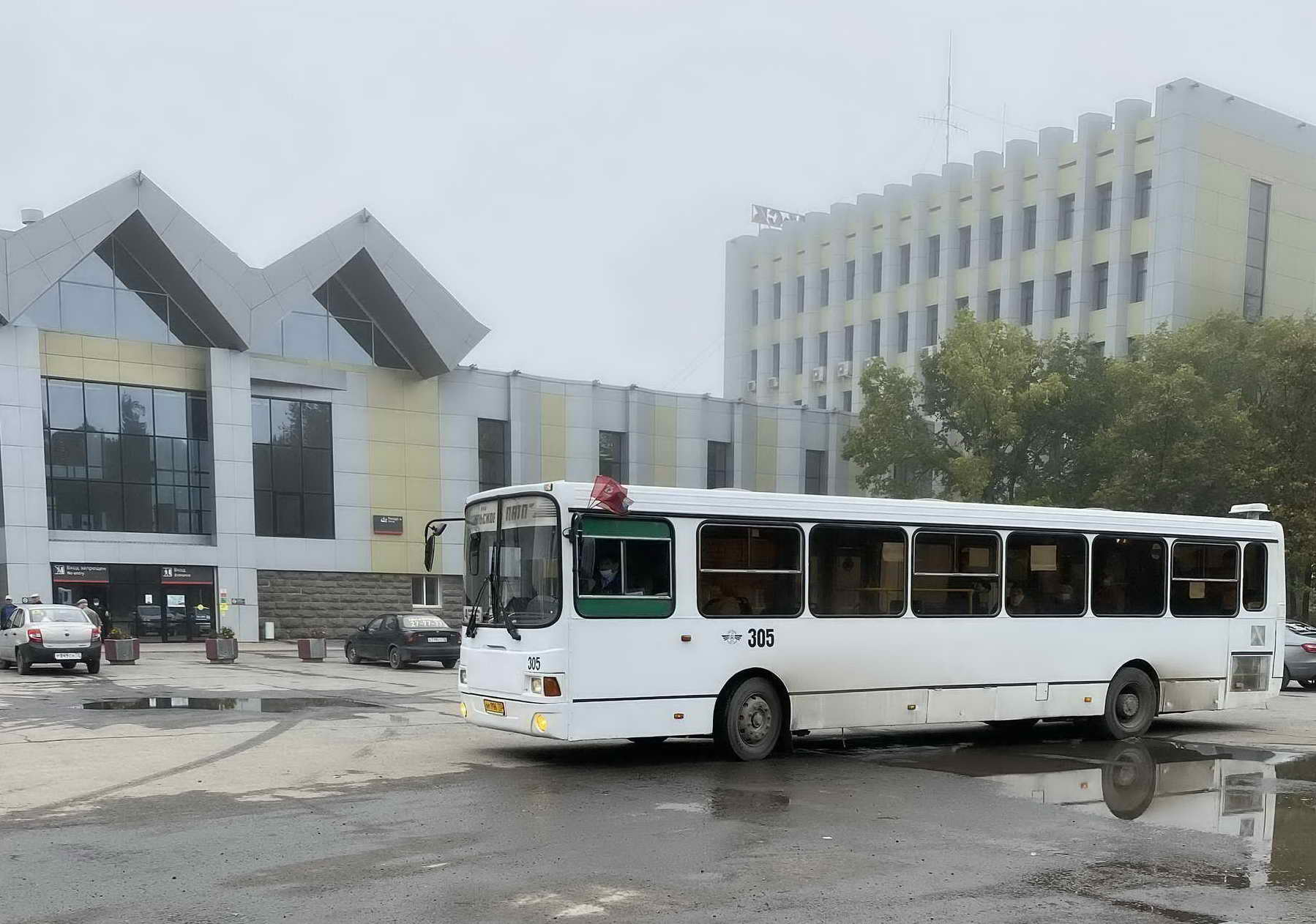 Автобус № 4 Тобольск