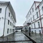 Внутренний двор. Тюремный замок. Тобольск