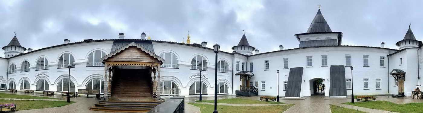 Гостиный двор. Что посмотреть в Тобольске