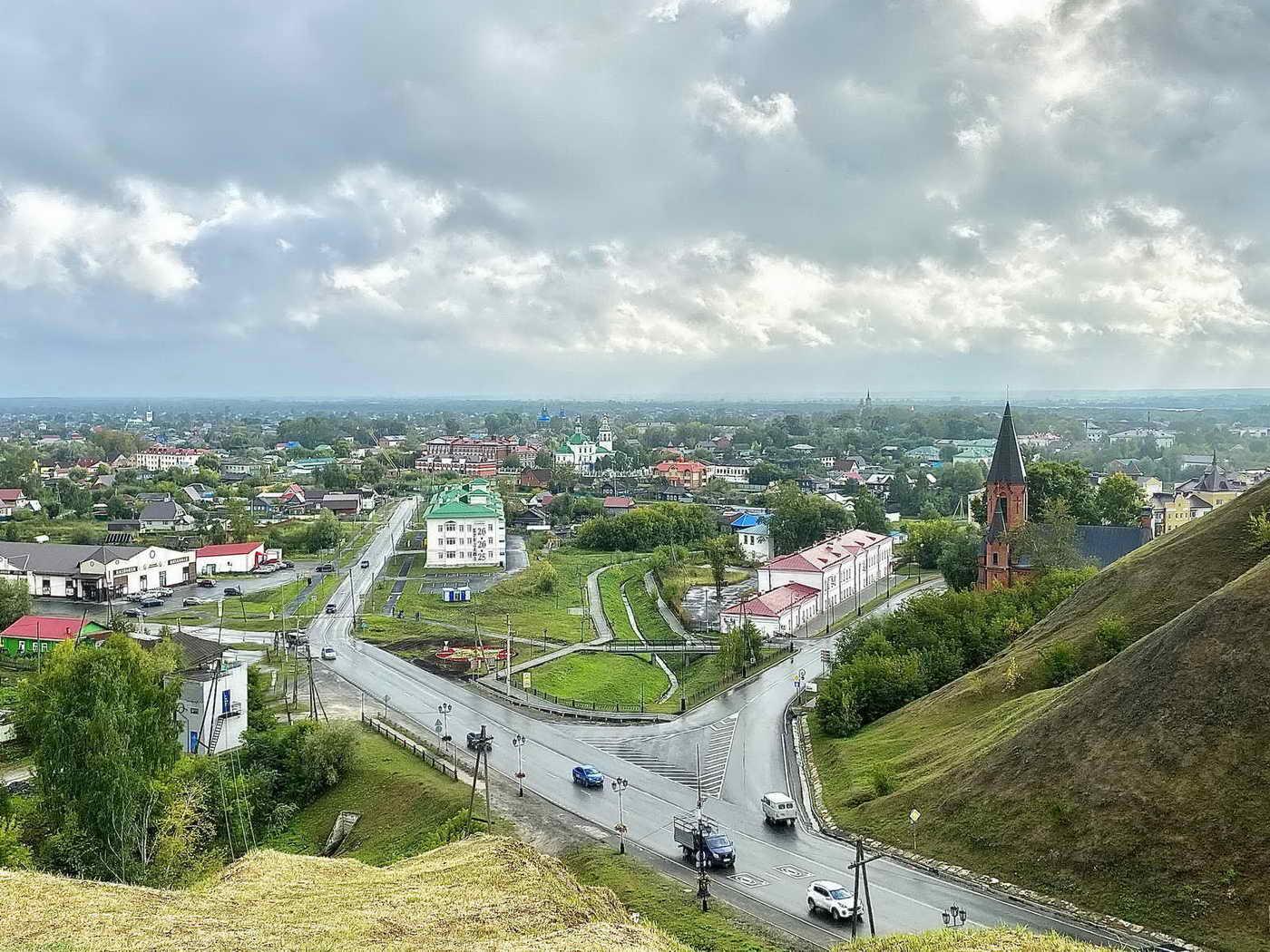 Что посмотреть в Тобольске. Вид на город