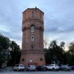 Водонапорная башня. Один день в Тюмени