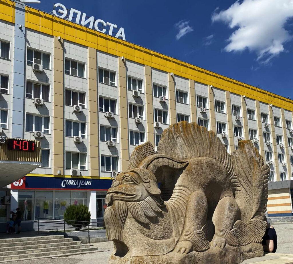 Гостиница Элиста в центре города